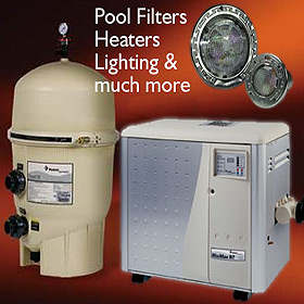 Pentair pool equipment